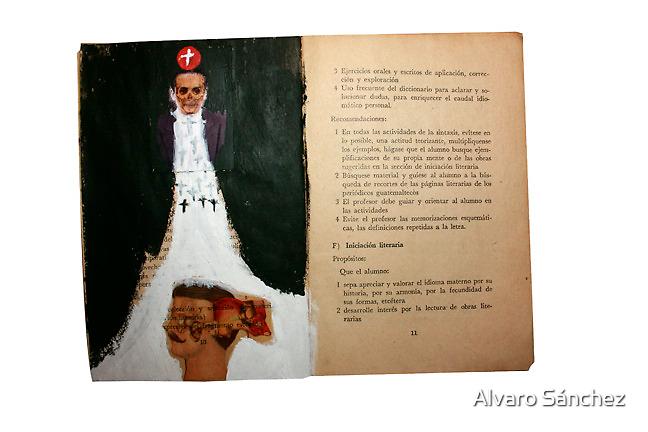 AUTORETRATO DEL AUTOR  Y SUS DILEMAS SOBRE SU PROPIA EXISTENCIA by Alvaro Sánchez