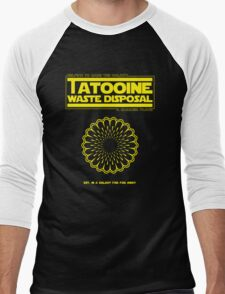 Tatooine Disposal Men's Baseball ¾ T-Shirt