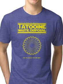 Tatooine Disposal Tri-blend T-Shirt