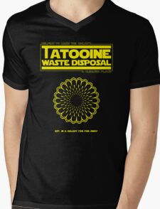 Tatooine Disposal Mens V-Neck T-Shirt