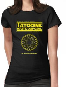 Tatooine Disposal Womens Fitted T-Shirt