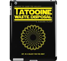Tatooine Disposal iPad Case/Skin