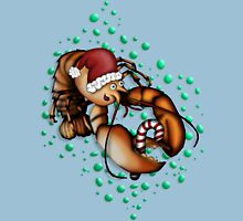 Lobster Claus Womens Fitted T-Shirt