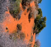 Red Sand Dune by Gerrart