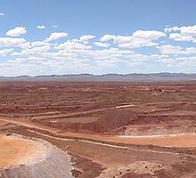 Open pit mine by AussieBryan