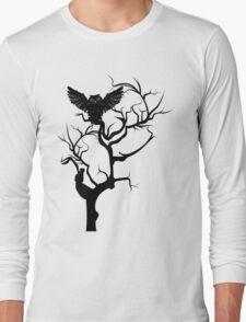 Black Owl 7 Long Sleeve T-Shirt