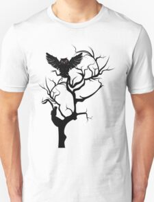 Black Owl 7 T-Shirt