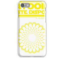 Tatooine Disposal iPhone Case/Skin