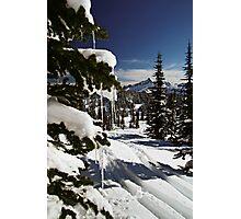 Happy Holidays! - Mt. Rainier N. P. Photographic Print