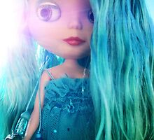 Custom Mermaid Blythe Doll Bathed in Sunlight by phillaine