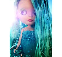 Custom Mermaid Blythe Doll Bathed in Sunlight Photographic Print