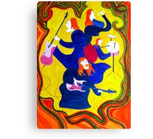 Rockstars-The Frocked Redheads Canvas Print