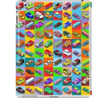 Cars 2 Flat Vehicle Isometric iPad Case/Skin