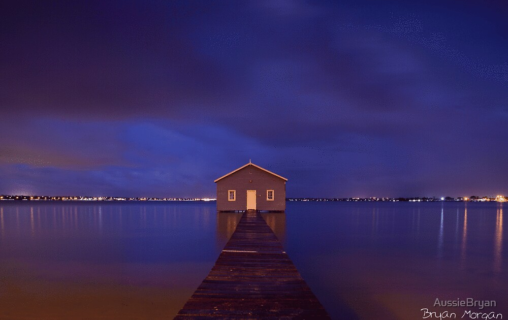 Crawley boatshed by AussieBryan