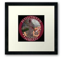 Halloween Harvest Framed Print