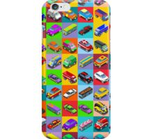 Cars 2 Flat Vehicle Isometric iPhone Case/Skin