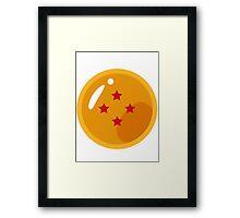 Dragon Ball - Dragon Ball 4 Stars Framed Print