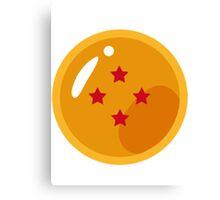 Dragon Ball - Dragon Ball 4 Stars Canvas Print