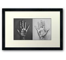 Ten Fingers Framed Print