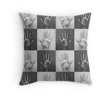Ten Fingers Throw Pillow