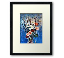 Red Dogwood Bolting Framed Print