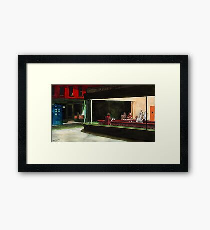 Night-Docs Framed Print