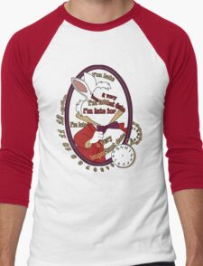 I'm late Men's Baseball ¾ T-Shirt