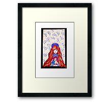 Garnet Framed Print