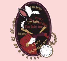 """I'm late"" Sticker One Piece - Long Sleeve"