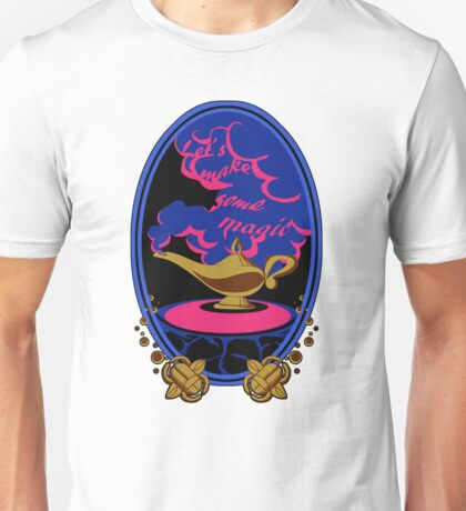 """Let's make some magic"" Sticker Unisex T-Shirt"