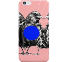 Battle of the Birds iPhone Case/Skin
