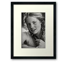 Freckles Framed Print