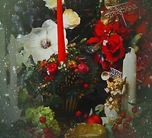 Christmas Window by Carol Bleasdale
