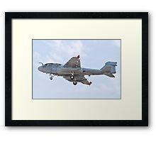 162939 EA-6B Prowler On Approach Framed Print