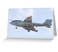 162939 EA-6B Prowler On Approach Greeting Card