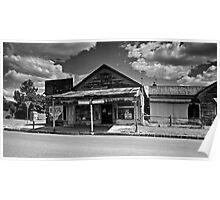 The Old Corner Store - mono Poster