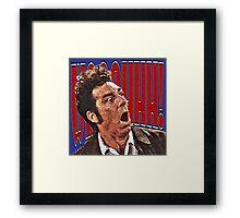 Shocked Kramer Framed Print