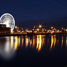 Dublin wheel reflections by Esther  Moliné