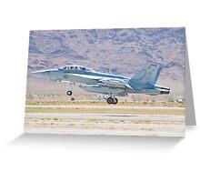 166897 EA-18G Growler Taking Off Greeting Card
