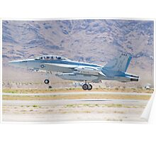 166897 EA-18G Growler Taking Off Poster