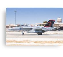 EA-18G Growler 166894 Landing Canvas Print