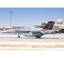 EA-18G Growler 166894 Landing Photographic Print