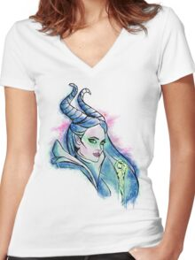 Once Upon A Dream Women's Fitted V-Neck T-Shirt