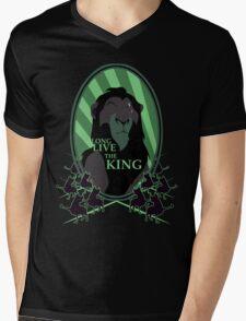 Long Live the King Mens V-Neck T-Shirt