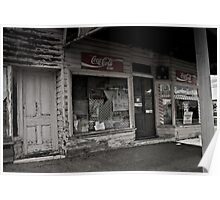Closed for Business, the Old Corner Store Poster