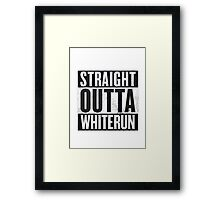 Straight Outta Whiterun  Framed Print