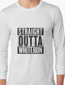 Straight Outta Whiterun  Long Sleeve T-Shirt