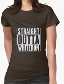 Straight Outta Whiterun  Womens Fitted T-Shirt
