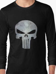 The Punisher Logo Long Sleeve T-Shirt