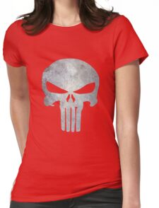 The Punisher Logo Womens Fitted T-Shirt